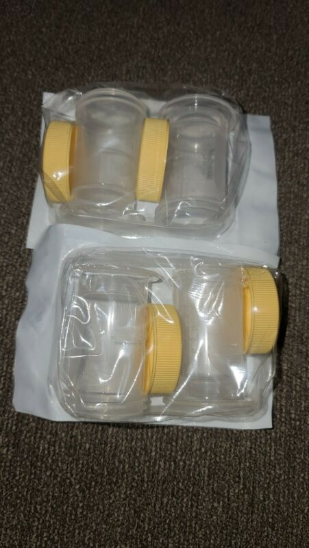 2x 2 packs Medela Colostrum Collection and Storage Containers 35ml New Sealed (E