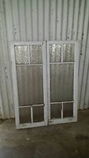 A pair of window panes