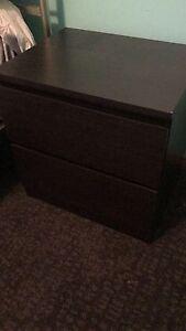 Bedroom Furniture Dark Brown Casula Liverpool Area Preview