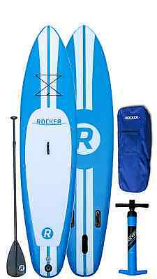"""iRocker Paddle Boards 10' (6"""" Thick) Inflatable SUP Package"""