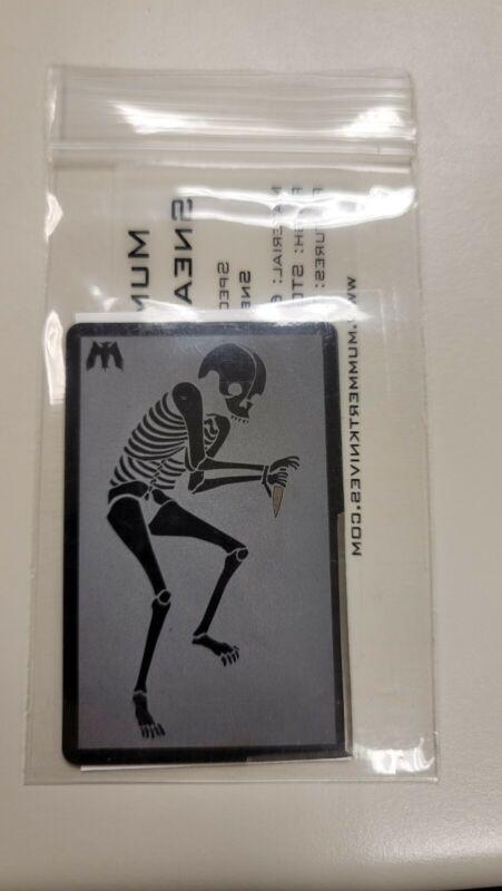 Mummert knives Sneak Reaper CC-L Eds Manifesto
