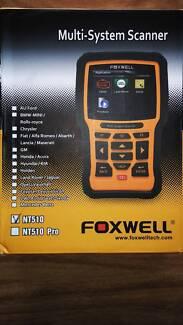 Foxwell NT510 OBD2 OBD1 Scan Tool for car diagnostics