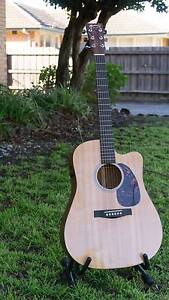 Martin DCPA4 Acoustic Electric Guitar and accessories Carnegie Glen Eira Area Preview
