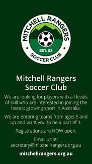 Mitchell Rangers Soccer Club – Players of all ages, skills wanted