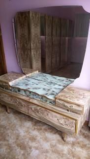 Retro bedroom suite