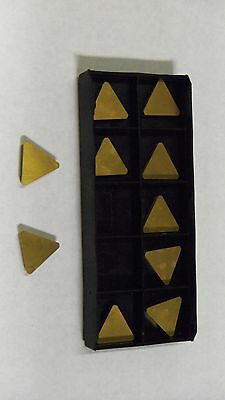 NEW 10PCS TPG-323 TIN COATED  CARBIDE INSERTS