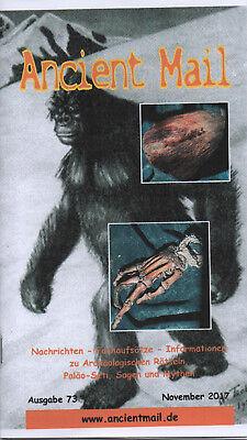 ANCIENT MAIL MAGAZIN 73 - Fakten und Beweise zu Bigfoot,Yeti & Co - Igor Burtsev