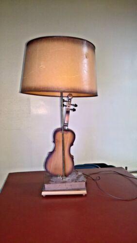 Old Antique CHASE Violin for Restoration OR LAMP DISPLAY UNIQUE