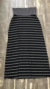 Old navy stripped maxi skirt !