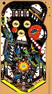 WILLIAMS BLACKOUT Pinball Machine Playfield Overlay