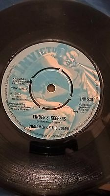 CHAIRMEN OF THE BOARD- FINDERS KEEPERS / INSTRUMENTAL - EXCELLENT UK 45 INV 530