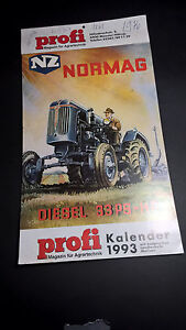 profi agrartechnik retro-kalender 1993