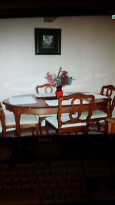 French provincial kitchen table set