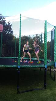 Spring Free Trampolene with Safety Net - Large  14ft