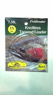Aventik Grade10 Pocket Fly Fishing Tapered Leader Wallet 10pcs Tapered Leaders
