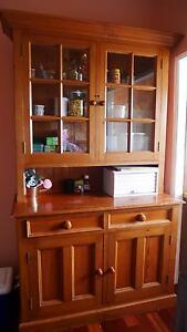 Vintage Solid Timber Display Cabinet Maroubra Eastern Suburbs Preview
