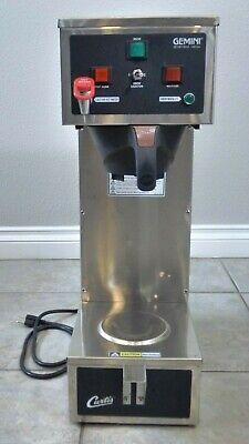 Curtis Gemini 120a Gem-120a Commercial Coffee Tea Brewer