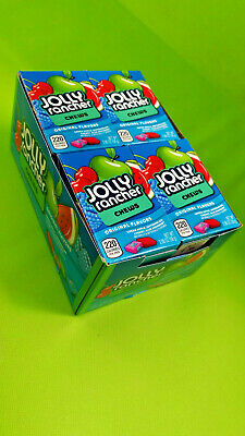 12x a 58g Jolly Rancher chews original flavors (2,44€ pro 100g) Kaubonbons candy (Jolly Rancher Chews)