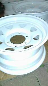 Toyota Hilux 4WD 15 inch Rims Freshly Painted (5 rims) Cairns Cairns City Preview