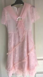 pink childs flowergirl dress  size 10 Werrington Penrith Area Preview