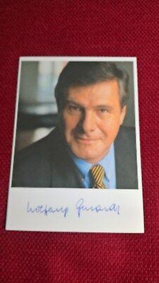 Original-Autogramm von Dr. Wolfgang Gerhardt (Politik), Farbbild,Postkartengröße