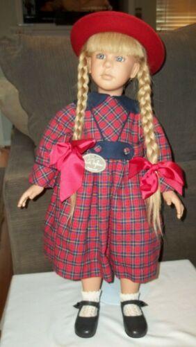"Ruth Treffeisen ""IRENE"" Doll, 25"" Tall, Beautiful Vinyl Doll, Ex Cond!"