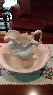 Wash bowl and water jug-Quality Italian style - ONO
