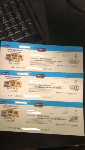 16x $5.00 Enfamil NeuroPro Coupons / Checks Expire Sept 30, 2020 and Dec 31,2020