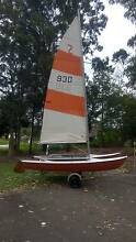 MARICAT  4.3m  (Windrush Surfcat)  WITH  REGISTERED ROAD TRAILER Lindfield Ku-ring-gai Area Preview