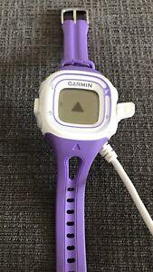 Purple Garmin Running Watch