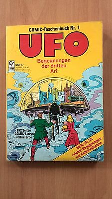 UFO BEGEGNUNGEN DER DRITTEN ART  COMIC TASCHENBUCH Nr.1
