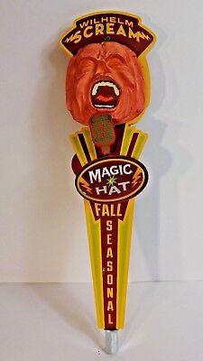 MAGIC HAT FALL SEASONAL PUMPKIN ALE BEER TAP HANDLE RARE HALLOWEEN - Halloween Pumpkin Ale
