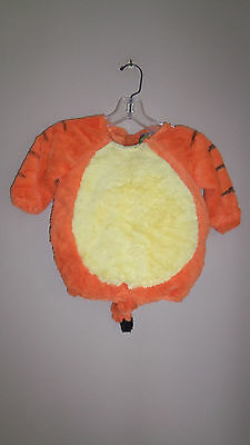 Disney STORE WINNIE THE POOH TIGGER PLUSH BUBBLE BODY COSTUME DRESS UP 12 18 M
