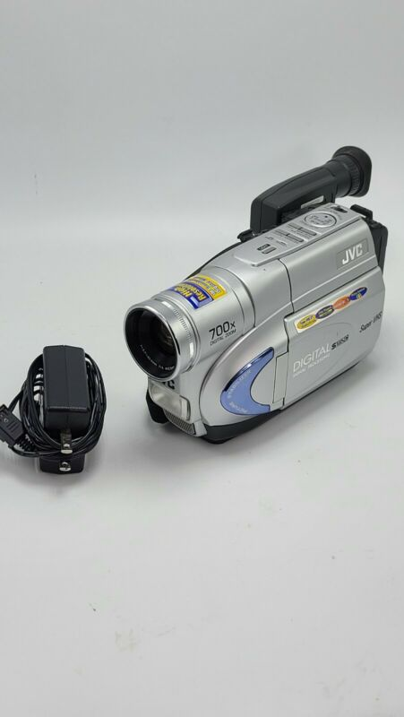 JVC Camcorder GR-SXM260U Compact High Res Digital Video Camera 700x Zoom TESTED!