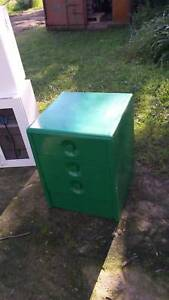kid room bed side table with 3 draws GREEN Glossodia Hawkesbury Area Preview