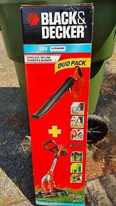 NEW Black & Decker 18V Lithium-Ion Whipper Snipper & Blower Combo North Wahroonga Ku-ring-gai Area Preview