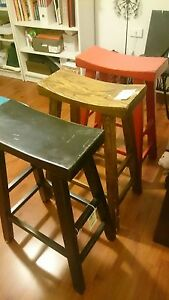 3 Chinese Oriental Bar Stools ISHKA brand 3 Colours Prestons Liverpool Area Preview