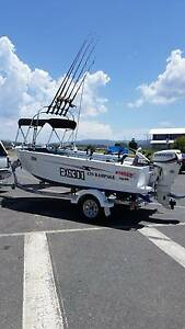 Aluminium tinnie/boat/motorboat - Stacer Rampage 2014, 4.29m Upper Coomera Gold Coast North Preview