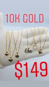 Beautiful 10K Gold Necklaces