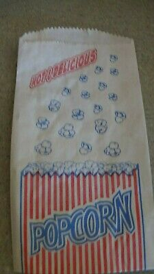 500 Paper Popcorn Bags 9.5 X 5.5