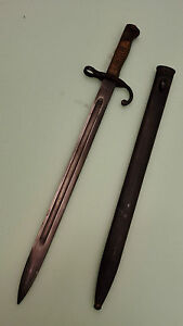 WW1 Antique Collectalbe German Military Bayonet With Steel Scabbard Replica