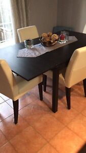 Kitchen table + 4 chairs $100 or best offer