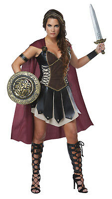 Glorious Gladiator Warrior Adult Women Costume