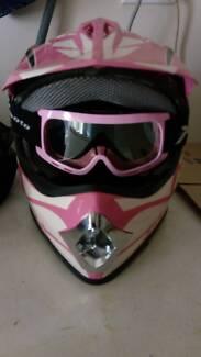 Girls Motorbike Helmet