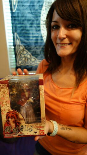 2012 Bandai Figurearts Zero Ruroni Kenshin Himura Japanese Figure Sealed NEW