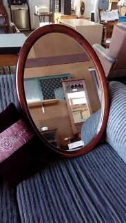 Large Oval Hall Mirror (Timber Frame) South Toowoomba Toowoomba City Preview