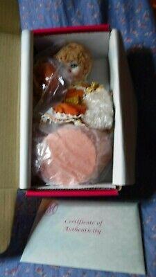 """NIB Marie Osmond Pumpkin Spice Rag-A-Muffin Doll 5"""" High C24993"""