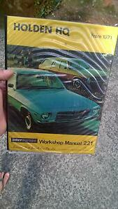 Holden HQ Workshop Manual Heathcote Sutherland Area Preview