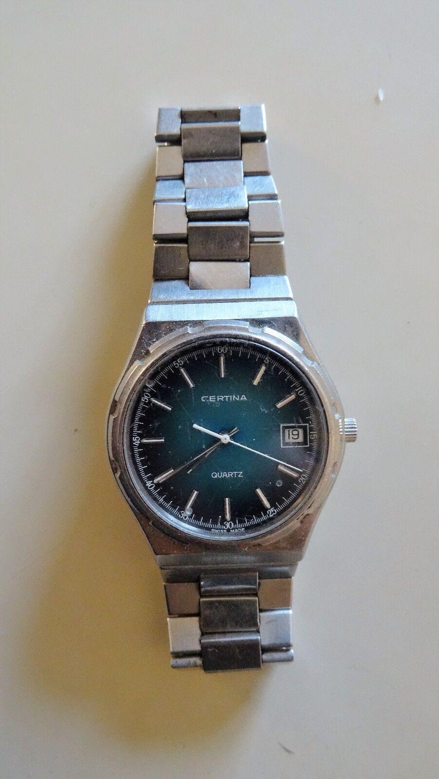 Certina - Orologio Uomo Vintage Uomo Svizzera Watch