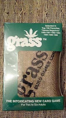 Grass Card Game   The Original  New